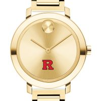 Rutgers University Women's Movado Gold Bold 34