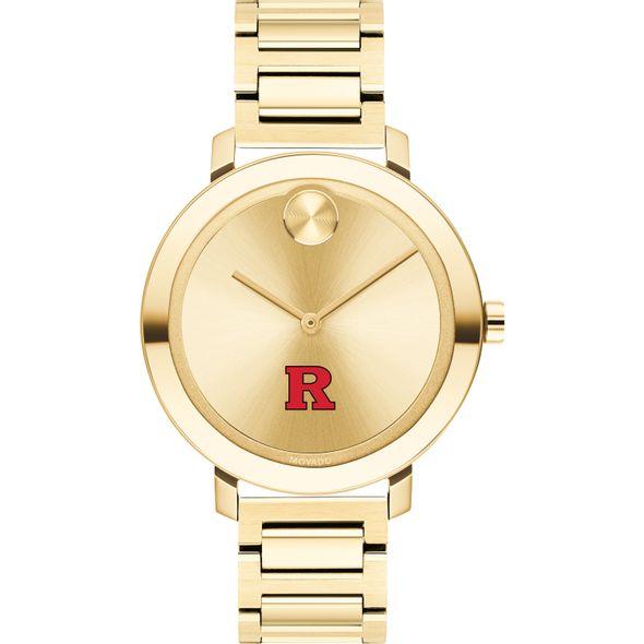 Rutgers University Women's Movado Gold Bold 34 - Image 2