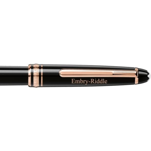 Embry-Riddle Montblanc Meisterstück Classique Rollerball Pen in Red Gold - Image 2