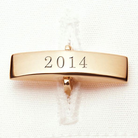 Christopher Newport University 14K Gold Cufflinks - Image 3