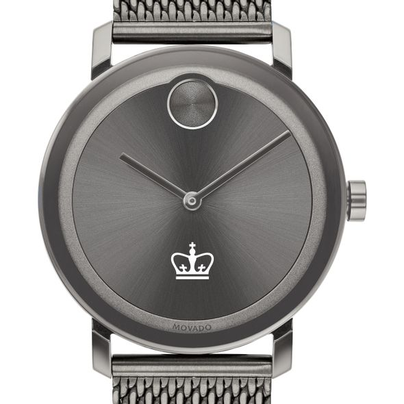 Columbia University Men's Movado BOLD Gunmetal Grey with Mesh Bracelet