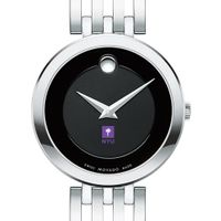 New York University Women's Movado Esparanza Stainless Steel Museum with Bracelet