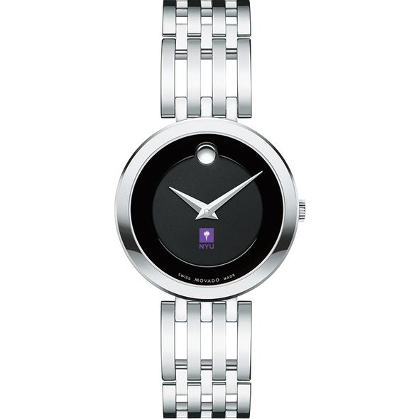 New York University Women's Movado Esparanza Stainless Steel Museum with Bracelet - Image 2