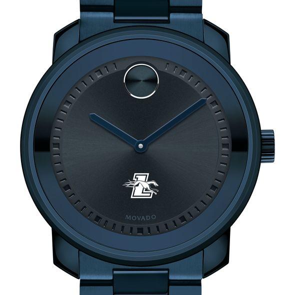Loyola University Men's Movado BOLD Blue Ion with Bracelet - Image 1