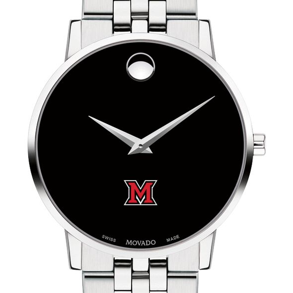Miami University Men's Movado Museum with Bracelet