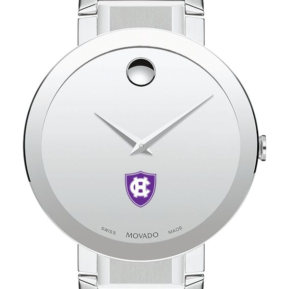 Holy Cross Men's Movado Sapphire Museum with Bracelet