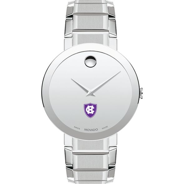 Holy Cross Men's Movado Sapphire Museum with Bracelet - Image 2