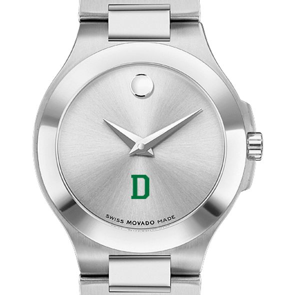 Dartmouth Women's Movado Collection Stainless Steel Watch with Silver Dial - Image 1
