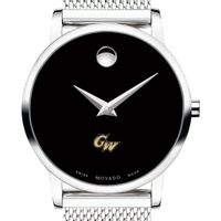 George Washington University Women's Movado Museum with Mesh Bracelet