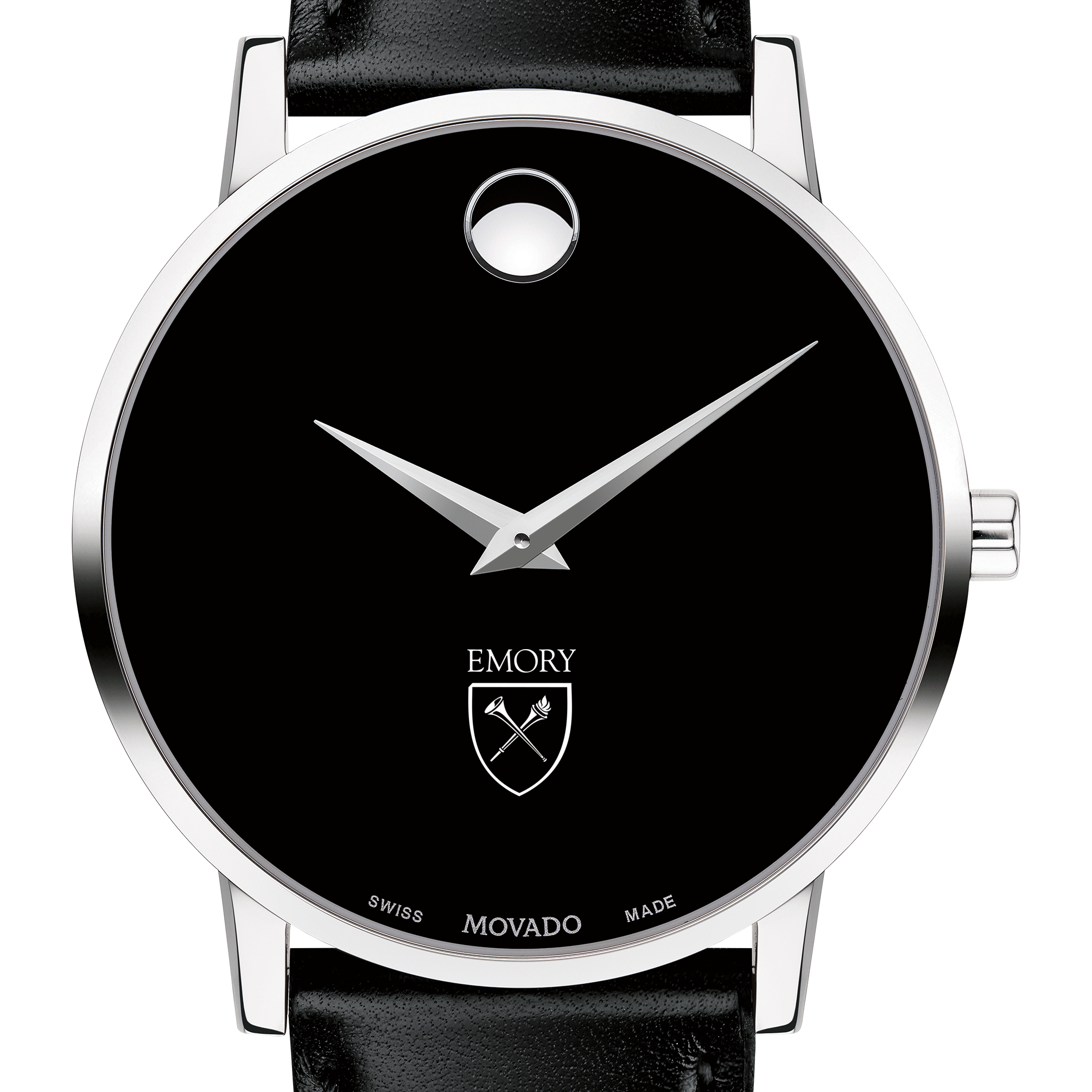 Emory Men's Movado Museum with Leather Strap