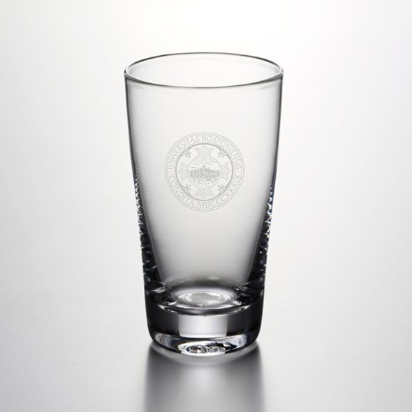 Boston University Ascutney Pint Glass by Simon Pearce