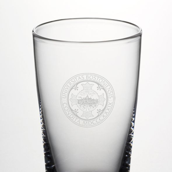 Boston University Ascutney Pint Glass by Simon Pearce - Image 2