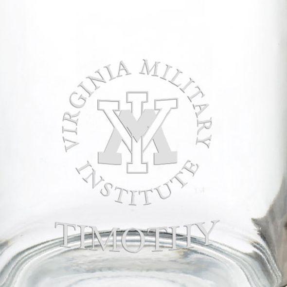 Virginia Military Institute 13 oz Glass Coffee Mug - Image 3