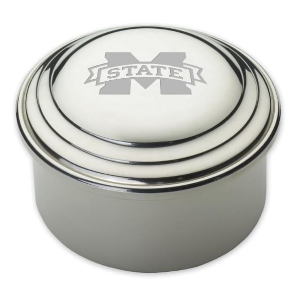 Mississippi State Pewter Keepsake Box