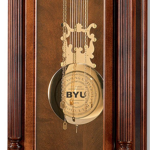 Brigham Young University Howard Miller Grandfather Clock - Image 2