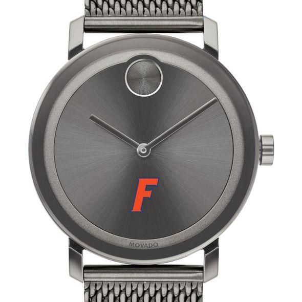 University of Florida Men's Movado BOLD Gunmetal Grey with Mesh Bracelet - Image 1