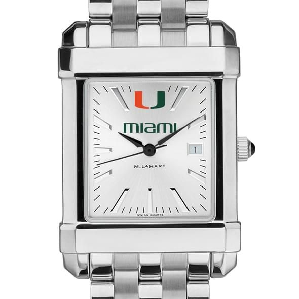 Miami Men's Collegiate Watch w/ Bracelet - Image 1