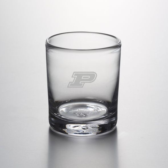 Purdue University Double Old Fashioned Glass by Simon Pearce