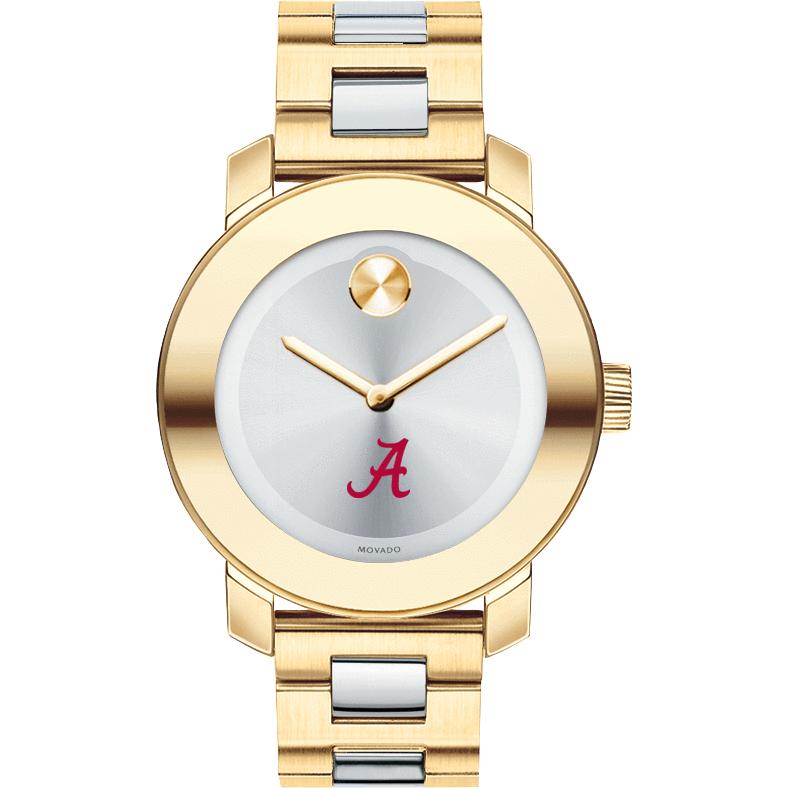 Alabama Women's Movado Two-Tone Bold - Image 2
