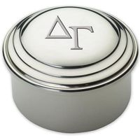 Delta Gamma Pewter Keepsake Box