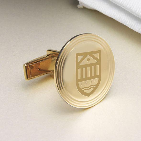 Tuck 18K Gold Cufflinks - Image 2