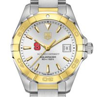 NC State Women's TAG Heuer Two-Tone Aquaracer