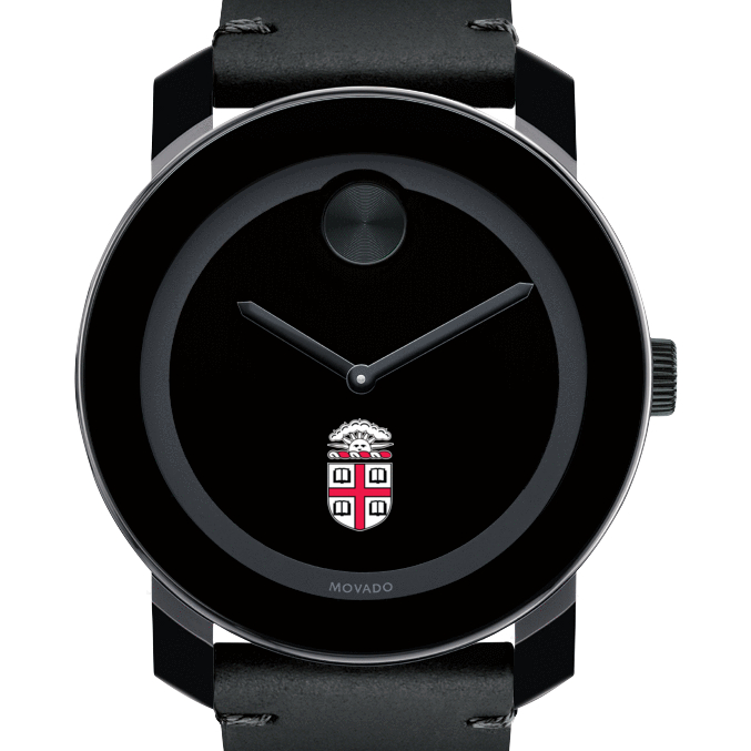 Brown Men's Movado BOLD with Leather Strap