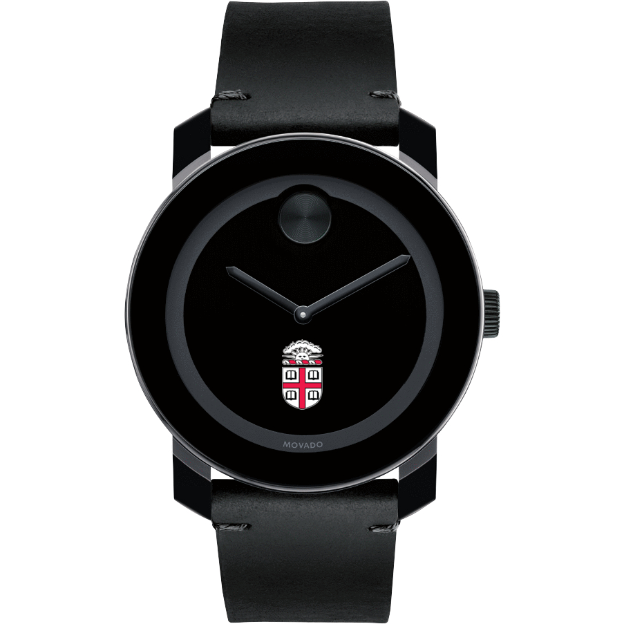 Brown Men's Movado BOLD with Leather Strap - Image 2
