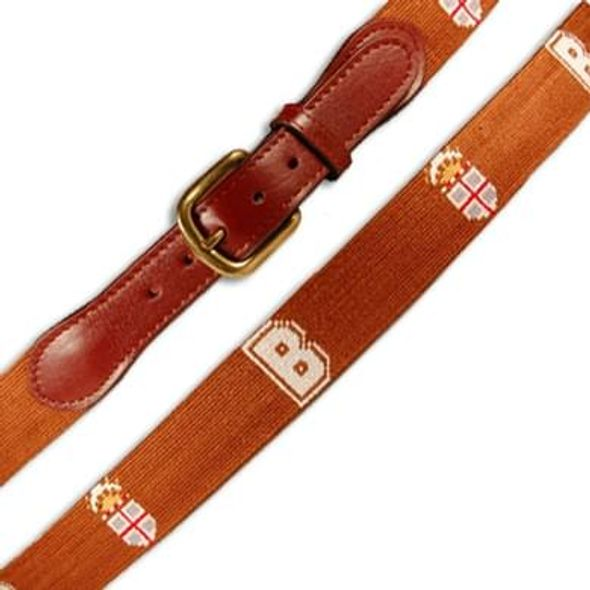 Brown Men's Cotton Belt