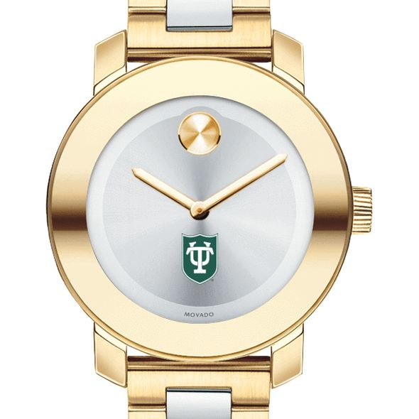 Tulane University Women's Movado Two-Tone Bold