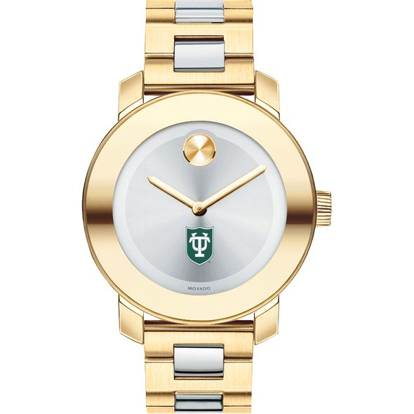 Tulane University Women's Movado Two-Tone Bold - Image 2