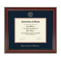 University of Illinois Diploma Frame, the Fidelitas