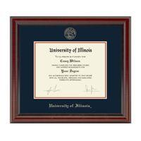 University of Illinois Diploma Frame, the Fidelitas