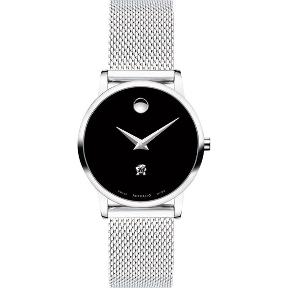 University of Maryland Women's Movado Museum with Mesh Bracelet - Image 2