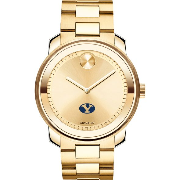 Brigham Young University Men's Movado Gold Bold - Image 2
