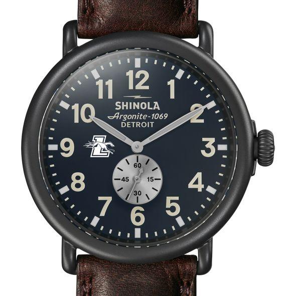 Loyola Shinola Watch, The Runwell 47mm Midnight Blue Dial - Image 1