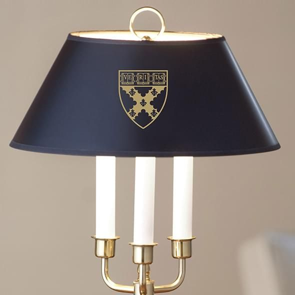 Harvard Business School Lamp in Brass & Marble - Image 2
