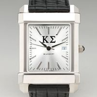 Kappa Sigma Men's Collegiate Watch with Leather Strap