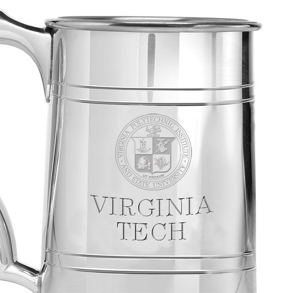 Virginia Tech Pewter Stein - Image 2