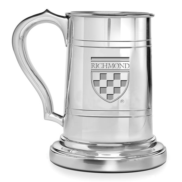 University of Richmond Pewter Stein