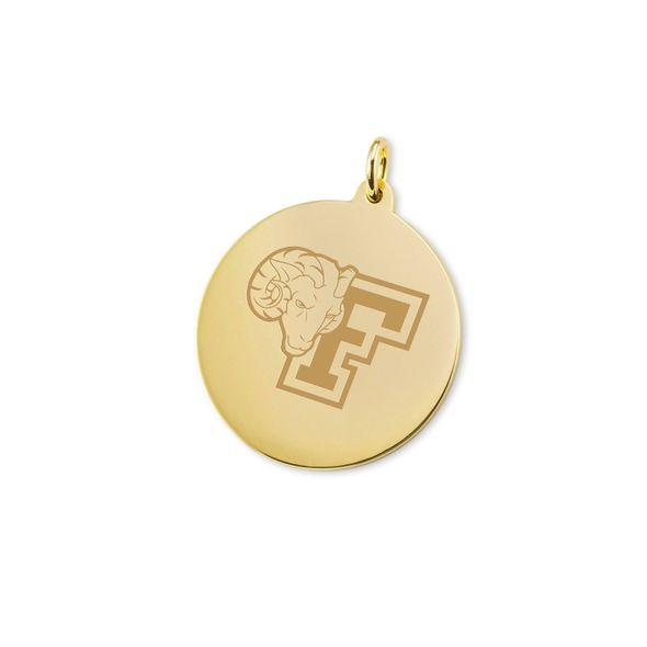 Fordham 18K Gold Charm