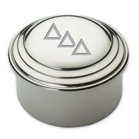 Delta Delta Delta Pewter Keepsake Box