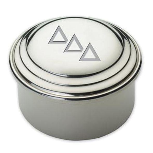 Delta Delta Delta Pewter Keepsake Box