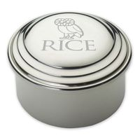 Rice University Pewter Keepsake Box