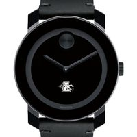 Loyola Men's Movado BOLD with Leather Strap