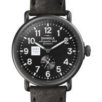Duke Fuqua Shinola Watch, The Runwell 41mm Black Dial