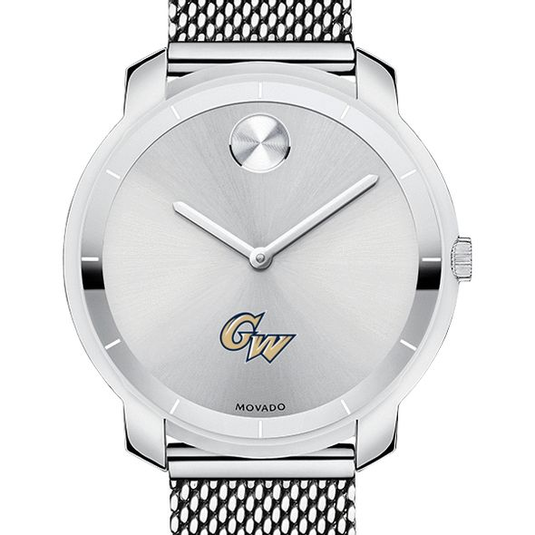 George Washington University Women's Movado Stainless Bold 36