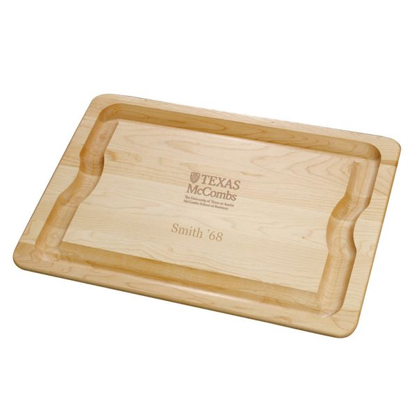 Texas McCombs Maple Cutting Board - Image 1