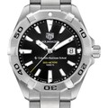 Columbia Business Men's TAG Heuer Steel Aquaracer with Black Dial - Image 1