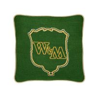 William & Mary Handstitched Pillow